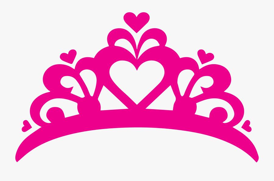 T-shirt Decal Sticker Crown Princess - Princess Crown Logo Png, Transparent Clipart
