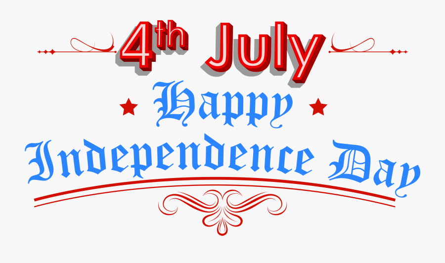 United States Independence Day Public Holiday Clip - Happy Independence Day America 2019, Transparent Clipart