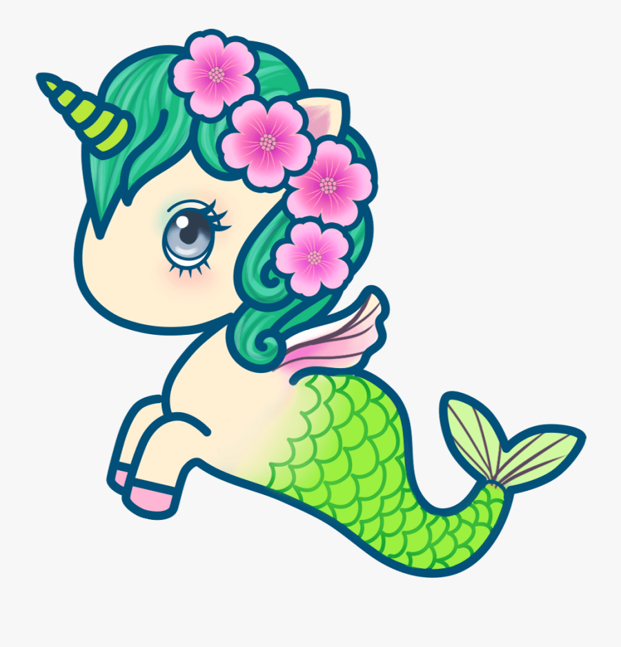 Drawing Mermaid Hello Kitty, Transparent Clipart