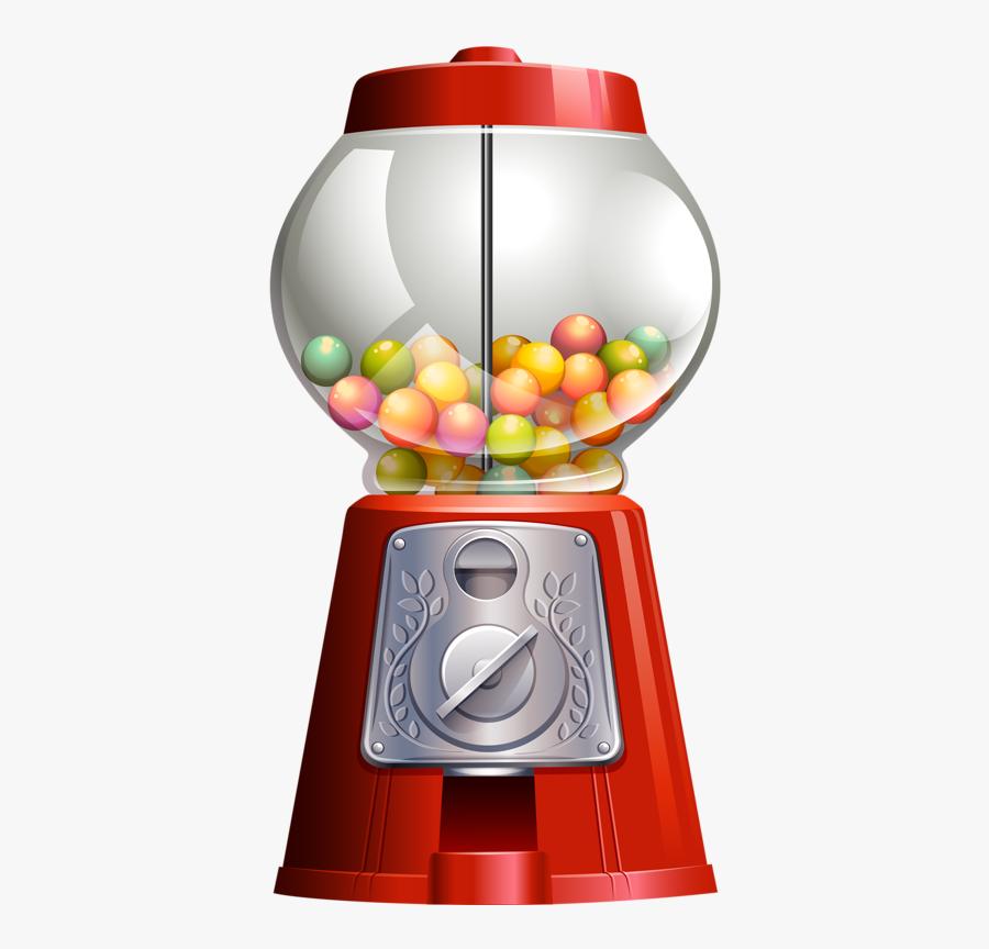 Freetoedit Gumball Gumballmachine Candy Gum - Bubble Gum Machine Vector Free Download, Transparent Clipart