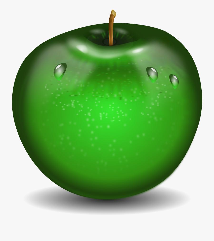 Transparent Teaspoon Clipart - Яблоко Зеленое Пнг, Transparent Clipart
