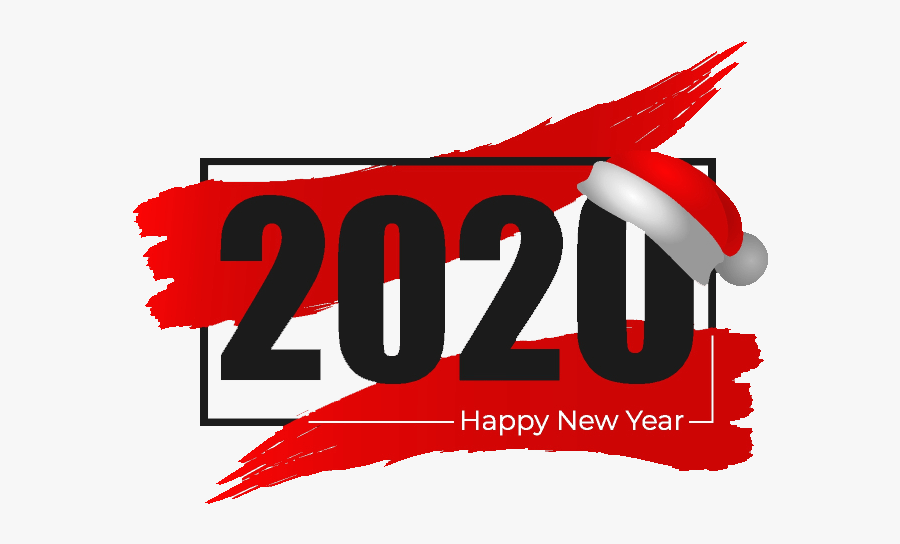 Happy New Year 2020 Image For Whatsapp - Graphic Design, Transparent Clipart