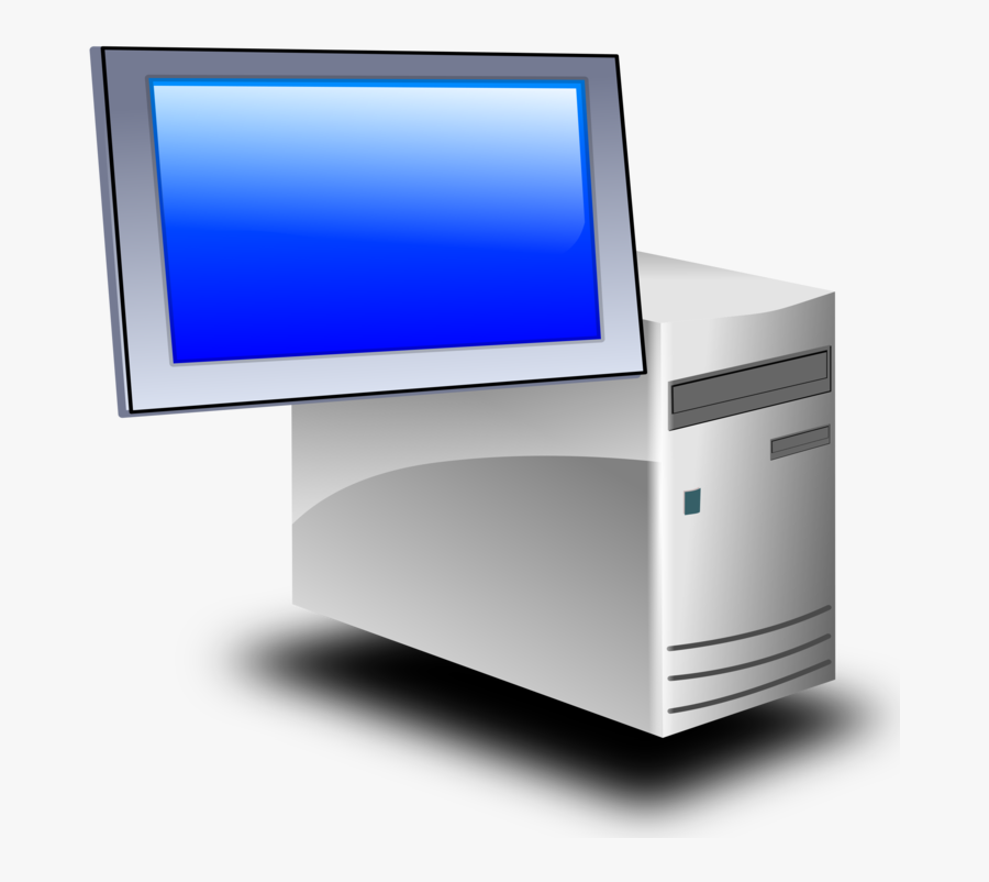 Computer Monitor,desktop Computer,electronic Device - Server Database Png Icon, Transparent Clipart