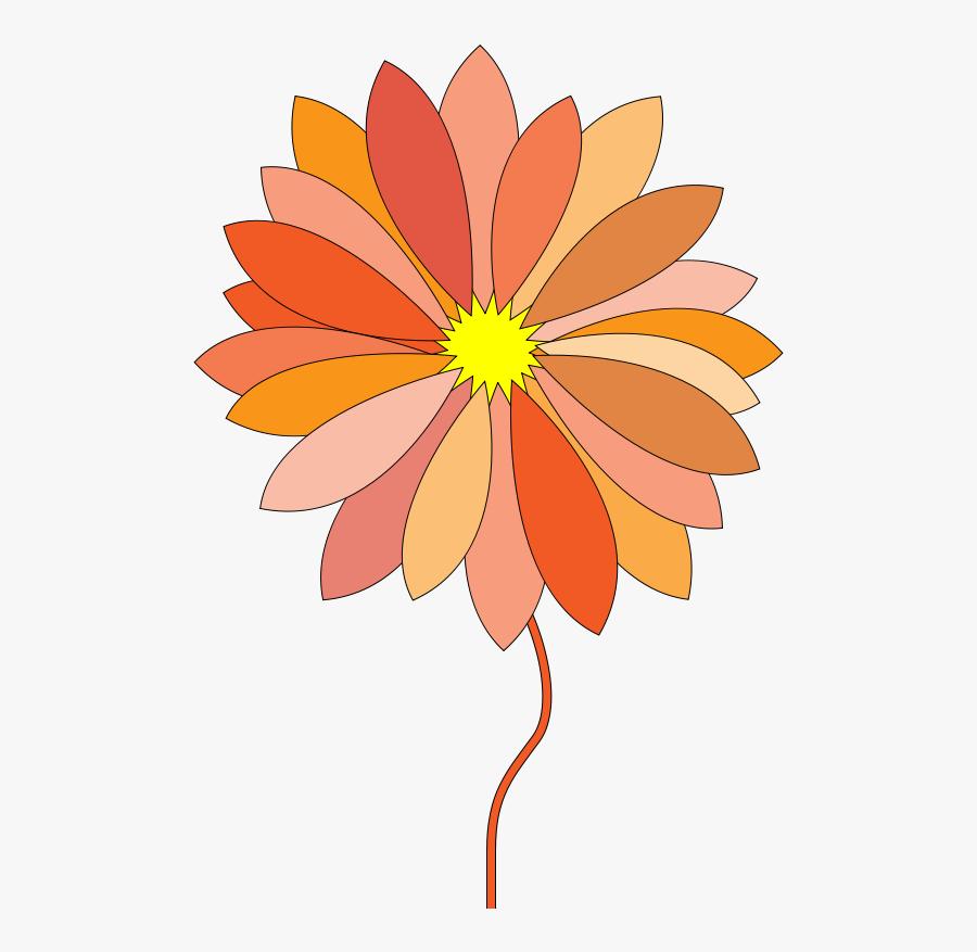 Cartoon Flower - Cartoon Flower Gif Png, Transparent Clipart