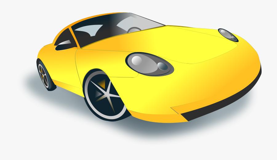 Sports Car - Sport Car Clipart, Transparent Clipart