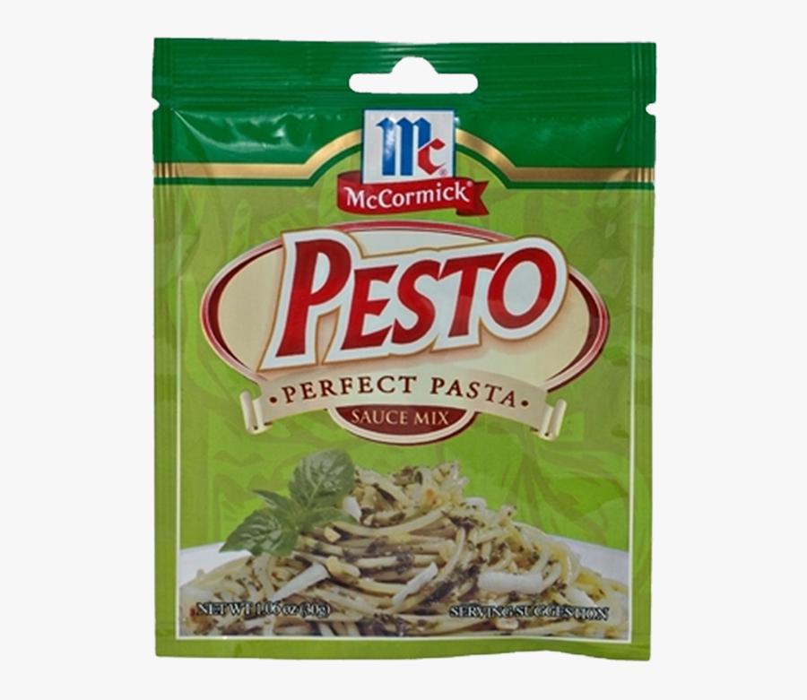 Mccormick® Perfect Pasta Sauce Mix, Pesto - Mccormick Perfect Pasta Pesto, Transparent Clipart