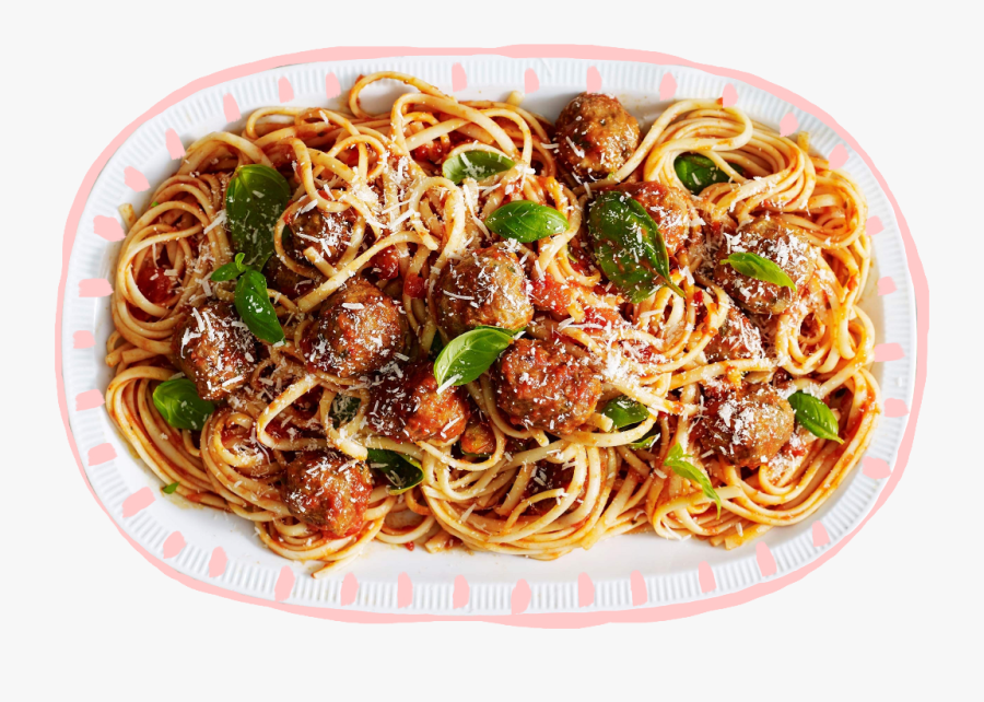 Plate Of Spaghetti Png - Spaghetti Made, Transparent Clipart