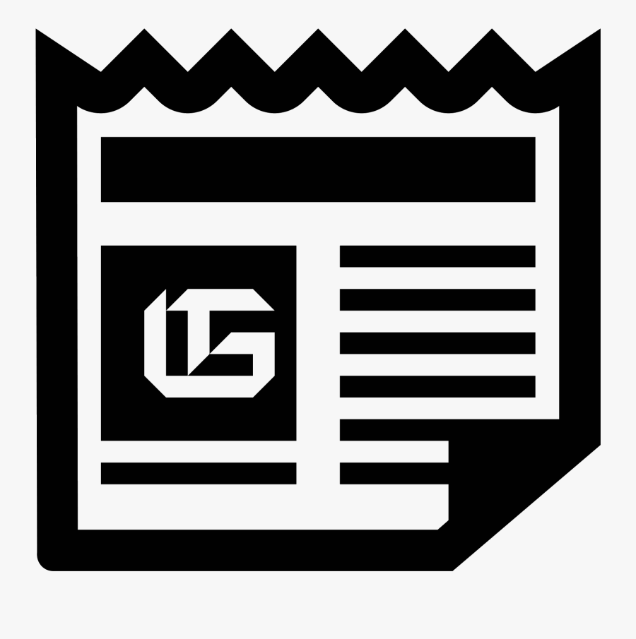 Banner Freeuse Stock News Clipart Icon Cute Borders - Google News, Transparent Clipart