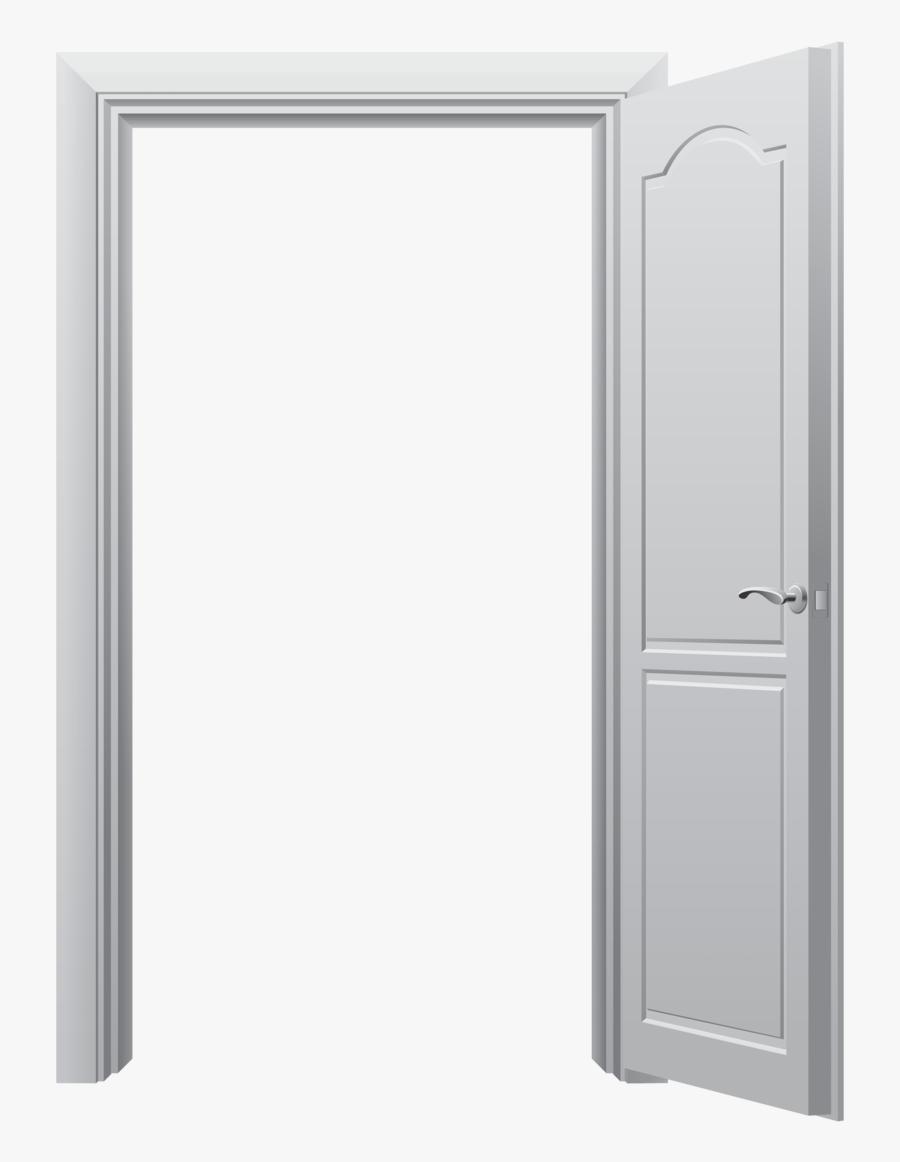 Transparent Knocking On Door Clipart - Wide Open Door Png, Transparent Clipart