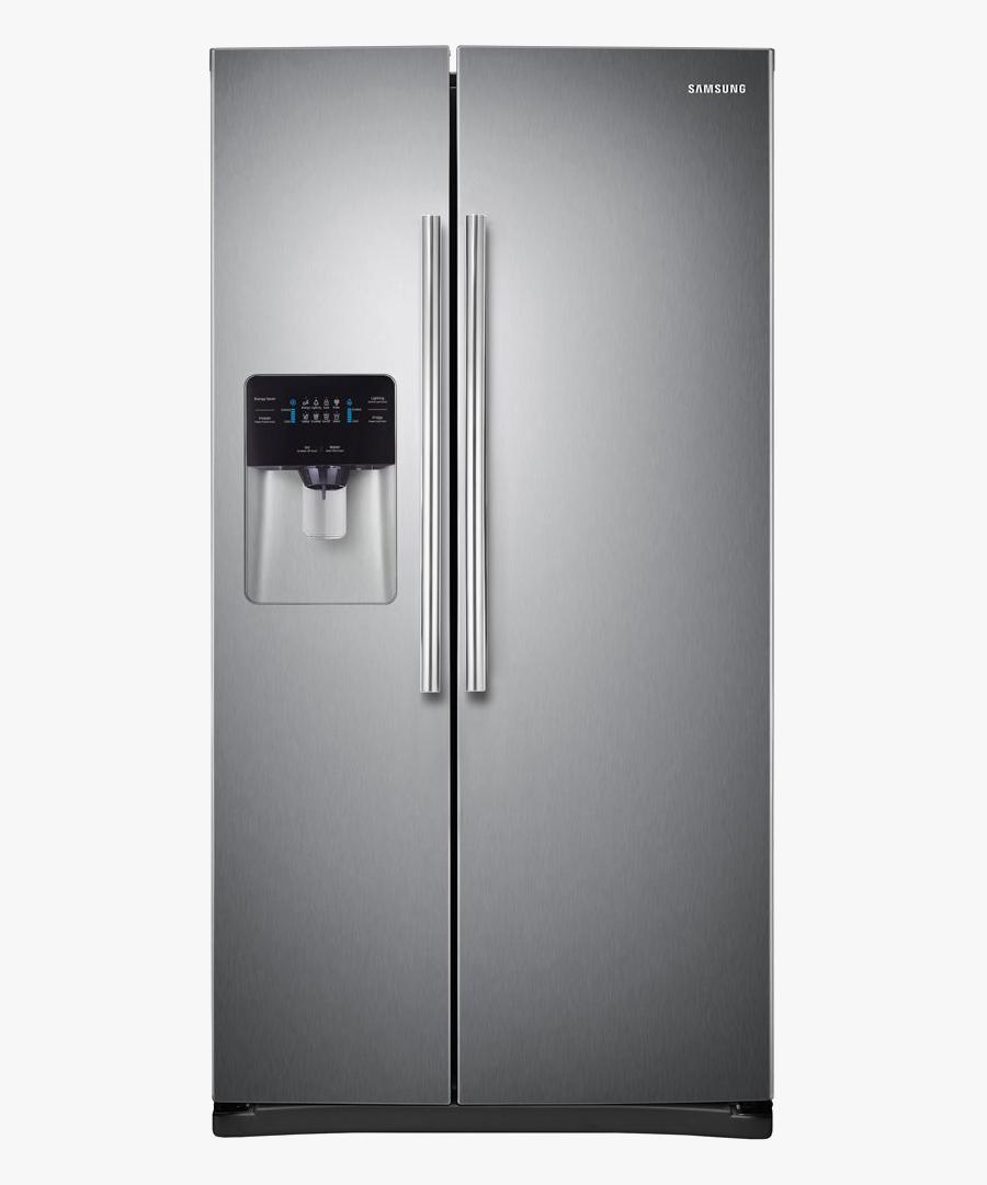 Refrigerator Clipart Double Door - Transparent Samsung Refrigerator Png, Transparent Clipart