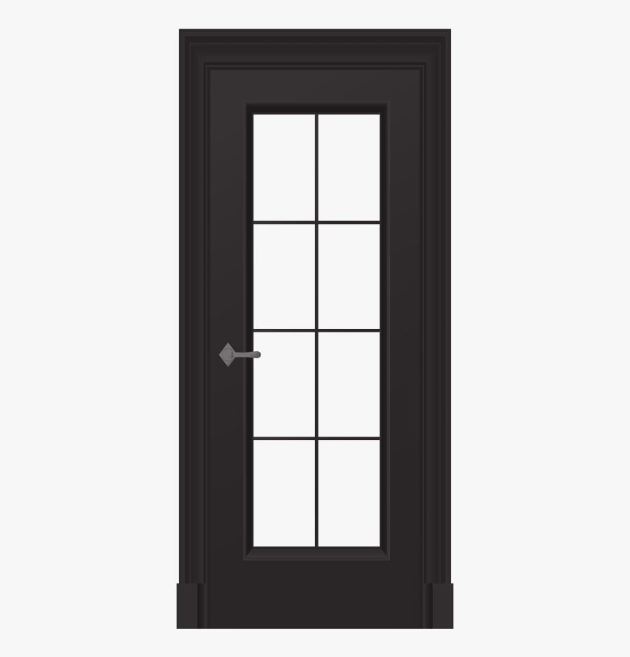 Transparent Open Double Door Clipart - Home Door, Transparent Clipart