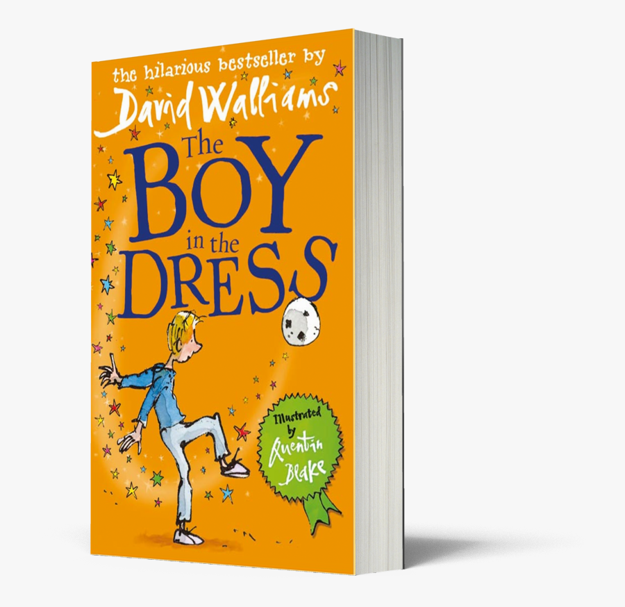The Boy In The Dress - Boy In The Dress By David Walliams, Transparent Clipart