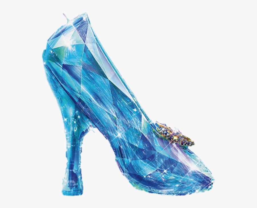 Cinderella Slipper Disney Princess The Walt Disney - Cinderella Glass Slipper Png, Transparent Clipart