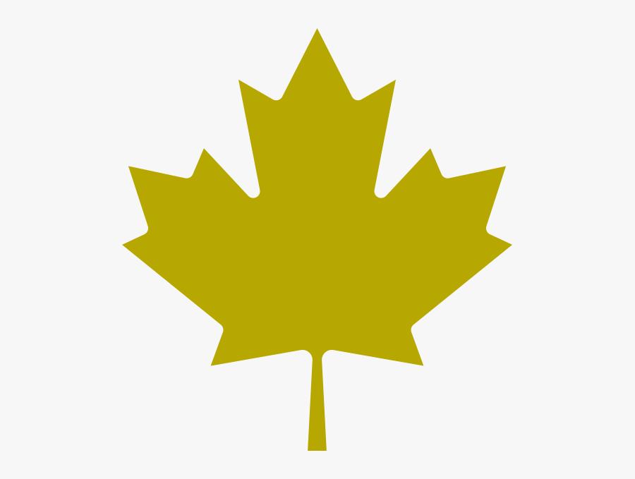Transparent Japanese Maple Clipart - Canadian Red Maple Leaf, Transparent Clipart