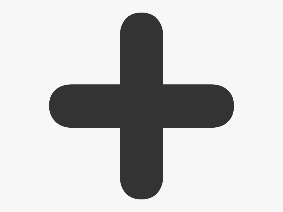 Addition Plus Sign Svg Clip Arts - Plus Sign, Transparent Clipart