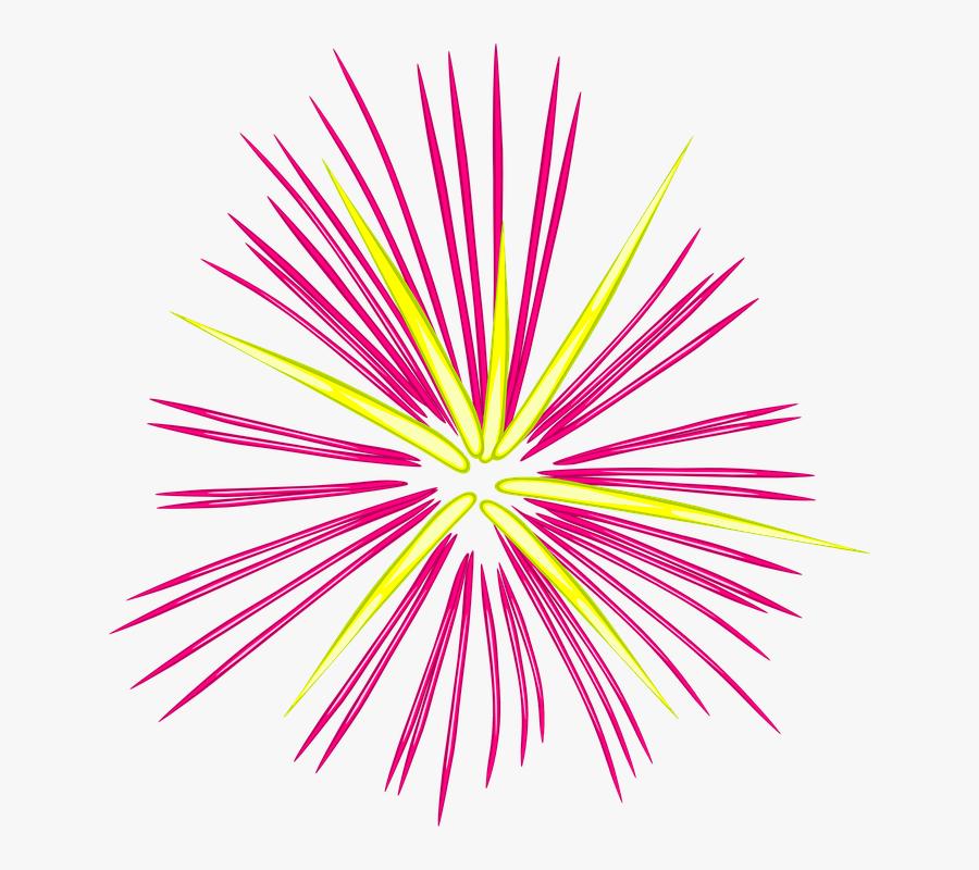 Png Fogos De Artificio New Year Firework Clipart - Fireworks Clipart, Transparent Clipart