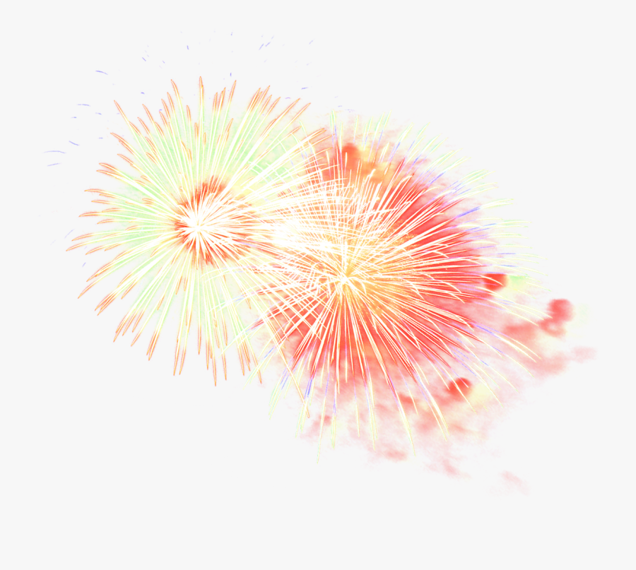 New Year Fireworks Png - Fireworks Transparent Png Free, Transparent Clipart