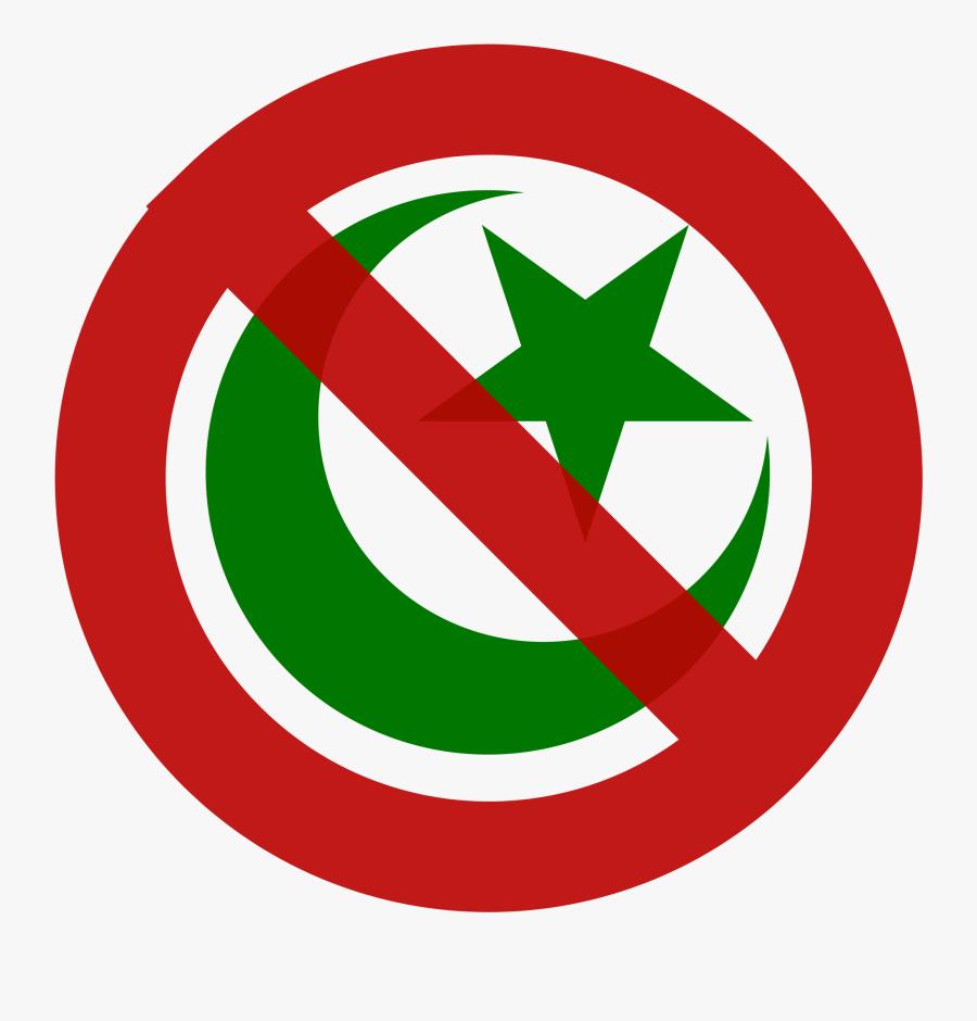 Slovakia Toughens Church Registration Rules To Bar - Anti Islam Logo, Transparent Clipart