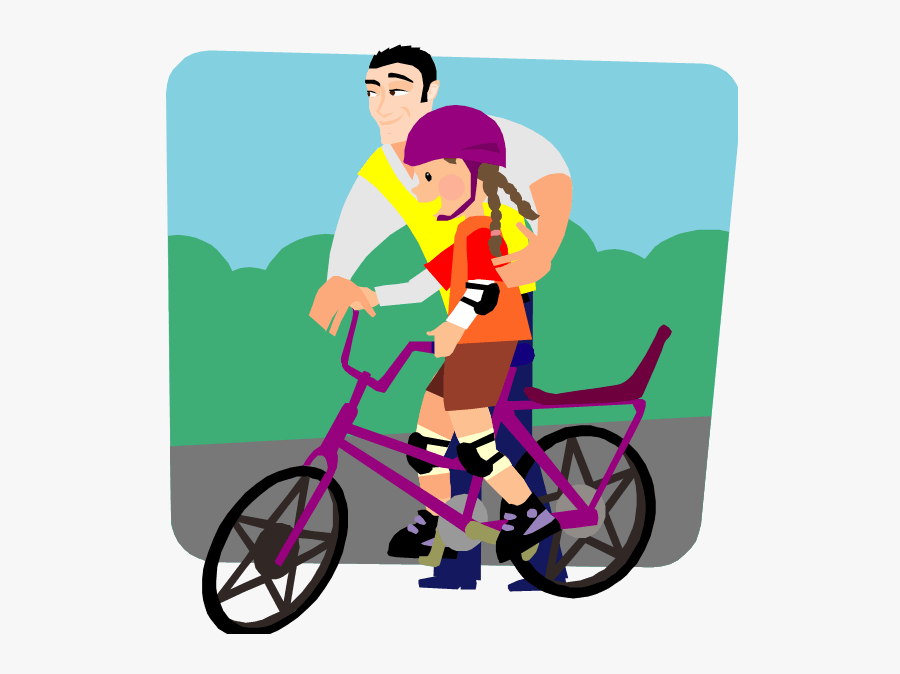 Planted Oaks And Little Acorns - Bicycle Safety, Transparent Clipart