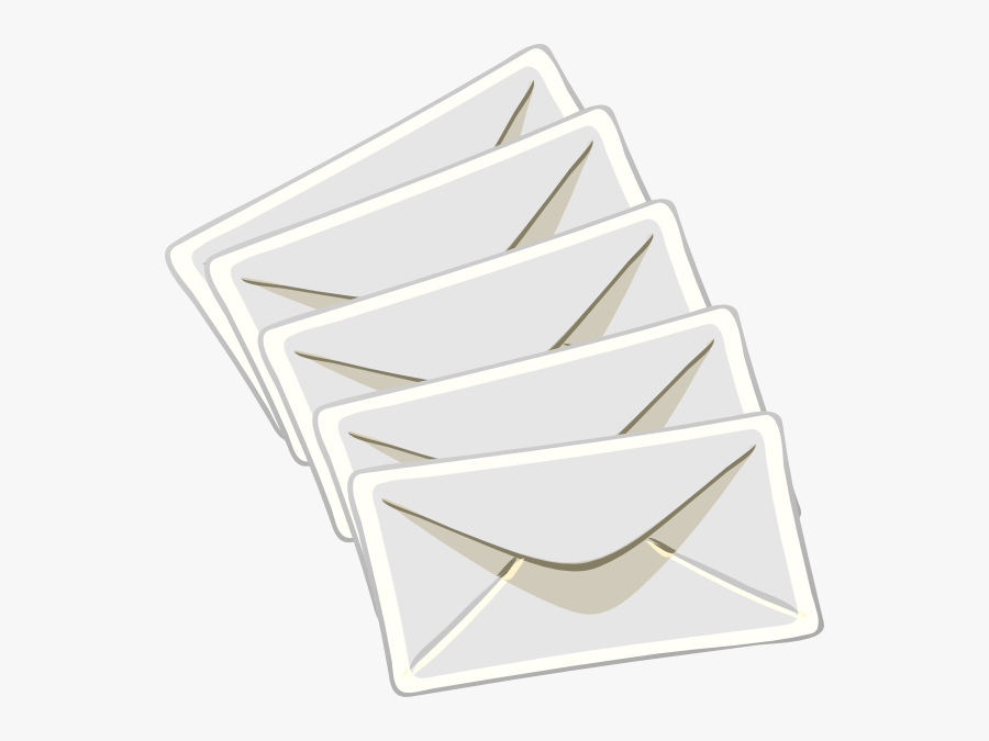 Sending Messages Svg Clip Arts - Letter Envelope, Transparent Clipart