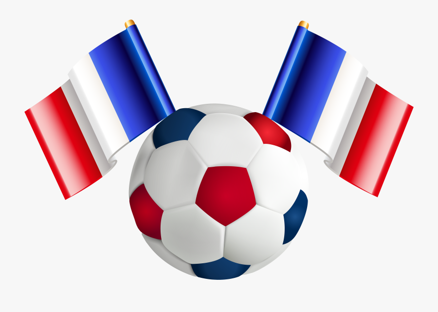 Flag Clipart Team - Red And Blue Soccer Ball, Transparent Clipart