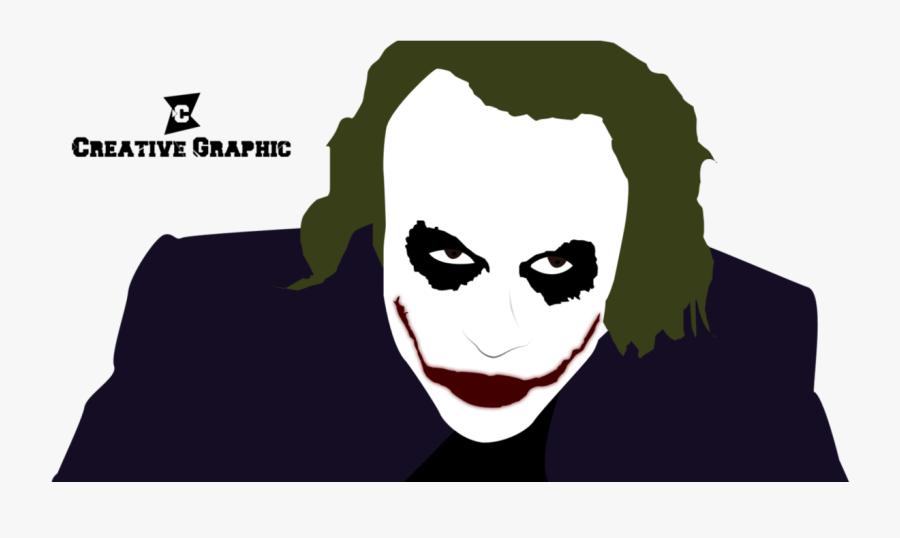 Dark Knight Techflourish Collections - Dark Knight Joker Mouth Vector, Transparent Clipart