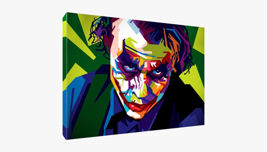 Joker Wall Art, Transparent Clipart