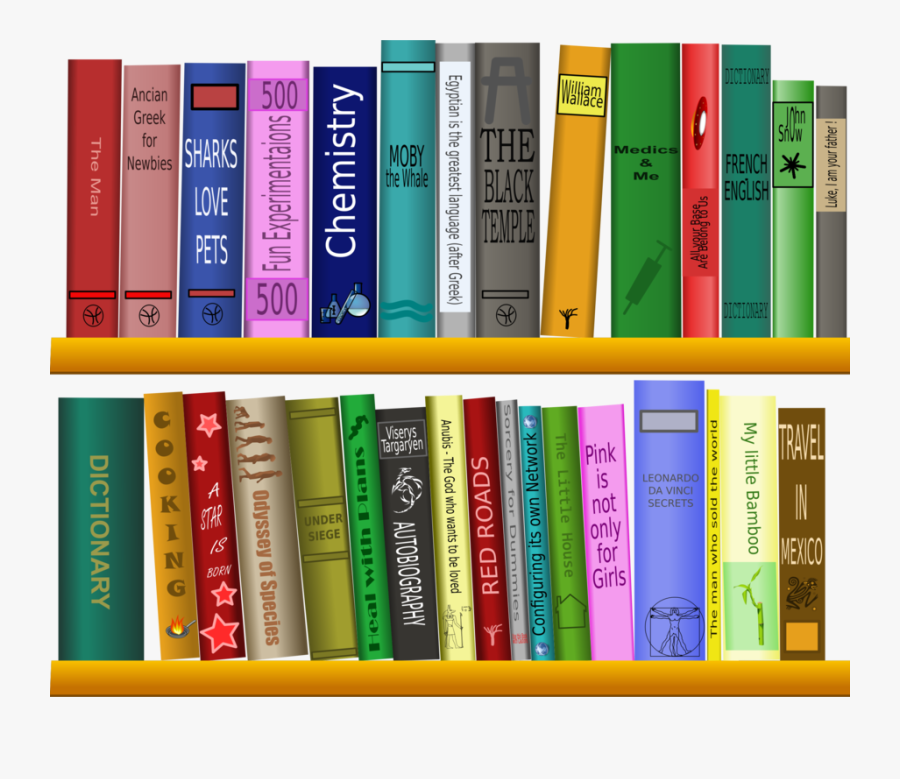 Books In Library Clip Art Free Transparent Clipart Clipartkey
