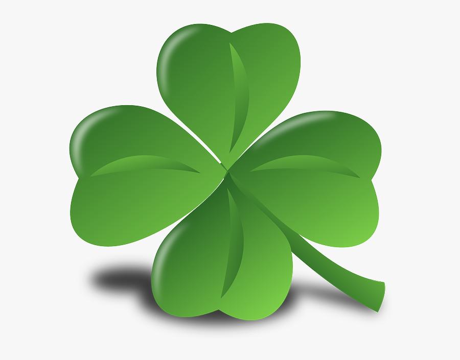 Wvu Alumni Band Home - St Patricks Day Four Leaf Clover, Transparent Clipart