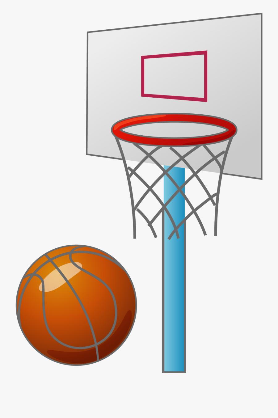 Cartoon Basketball Backboard Basketball Court - Box Basketball Png, Transparent Clipart
