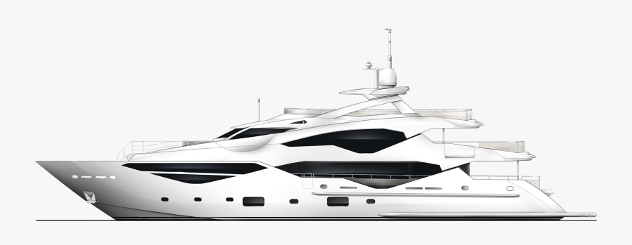 Transparent Yacht Clipart Black And White - Sh Magic, Transparent Clipart
