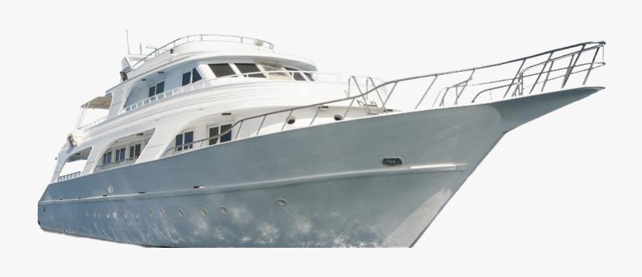 Yacht Transparent Background - Transparent Background Luxury Yacht Png, Transparent Clipart