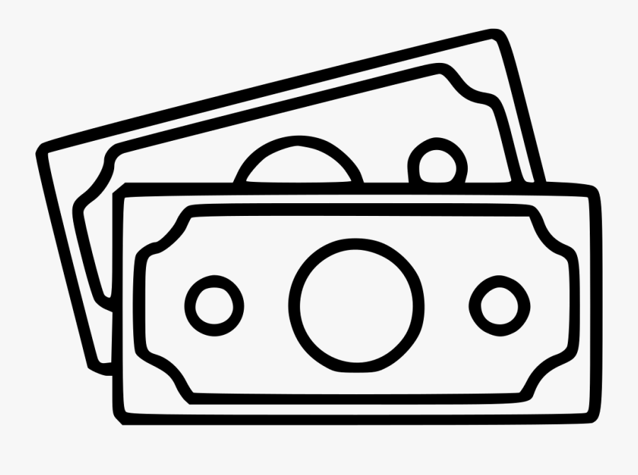 Money Banknotes Bills Currency Profit Savings Payment - Money Pictogram Png, Transparent Clipart
