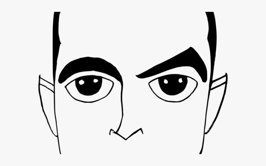 Expression Clipart Man Eye - Man Eye Clipart, Transparent Clipart