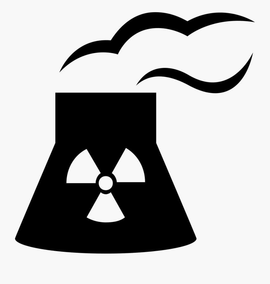 Industry Clipart Power Station - Nuclear Power Plant Icon, Transparent Clipart