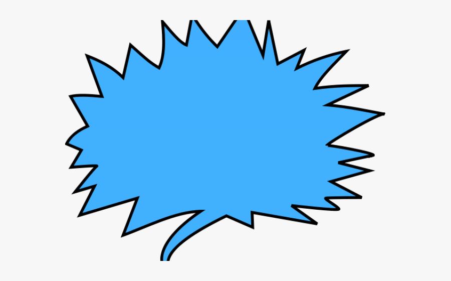 Thought Bubble Clipart - Clipart Png Comic Speech Bubble, Transparent Clipart