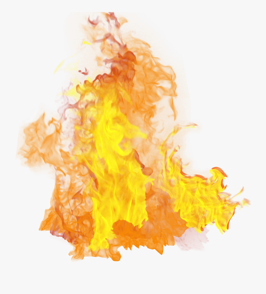 Fire Clipart No Background - Flame Fire Transparent Background, Transparent Clipart