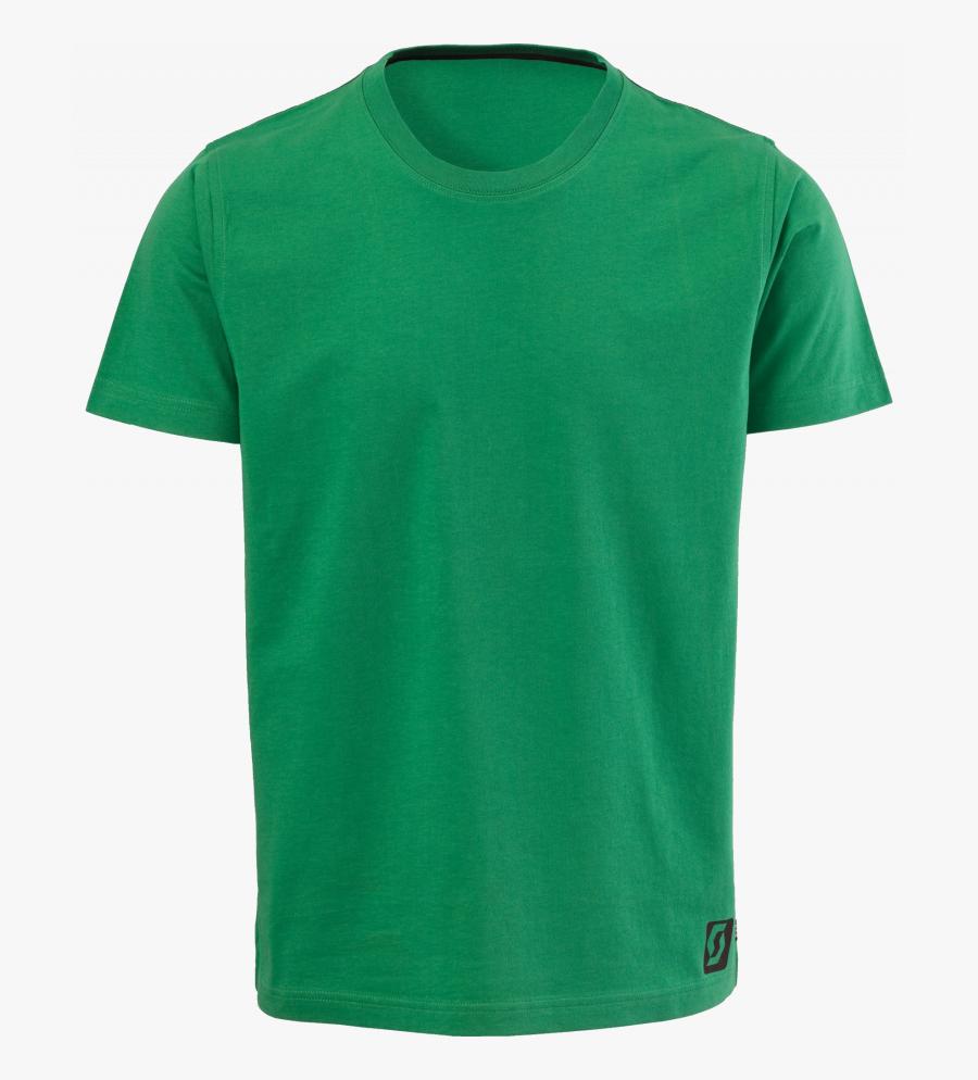 Green T Shirt Clipart , Png Download - Blank Green Shirt Template, Transparent Clipart