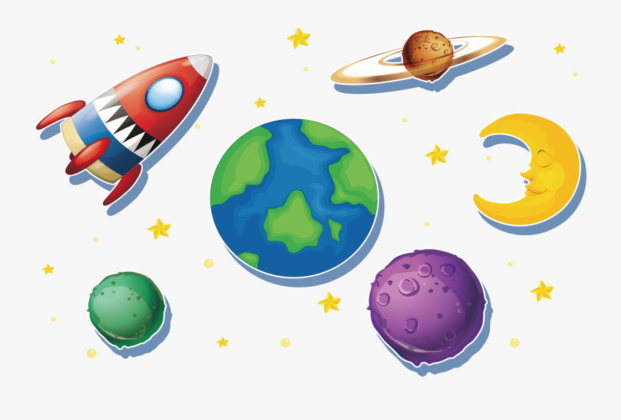 T Shirt Clip Art The Galaxy In - Planet Galaxy Vector Png, Transparent Clipart