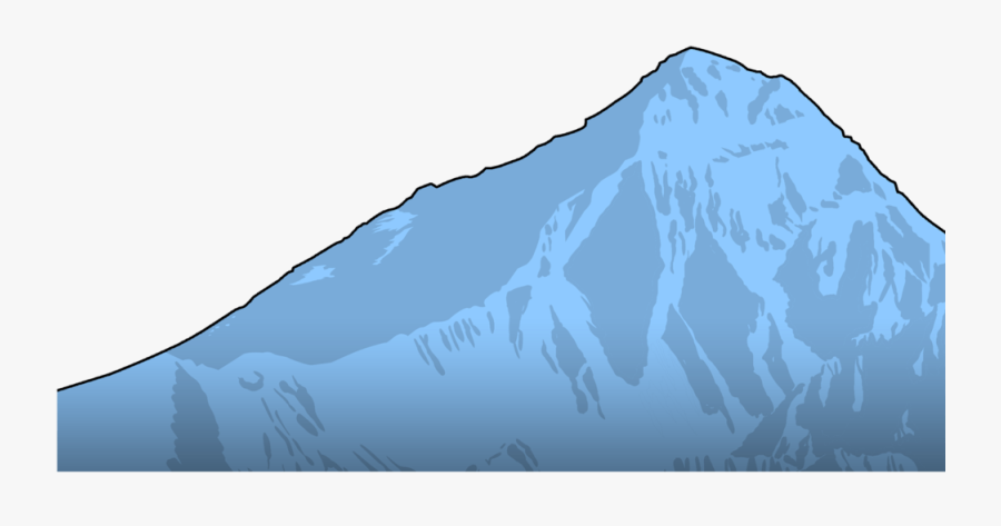 Everest Clipart - Mountain Range Side Clipart, Transparent Clipart