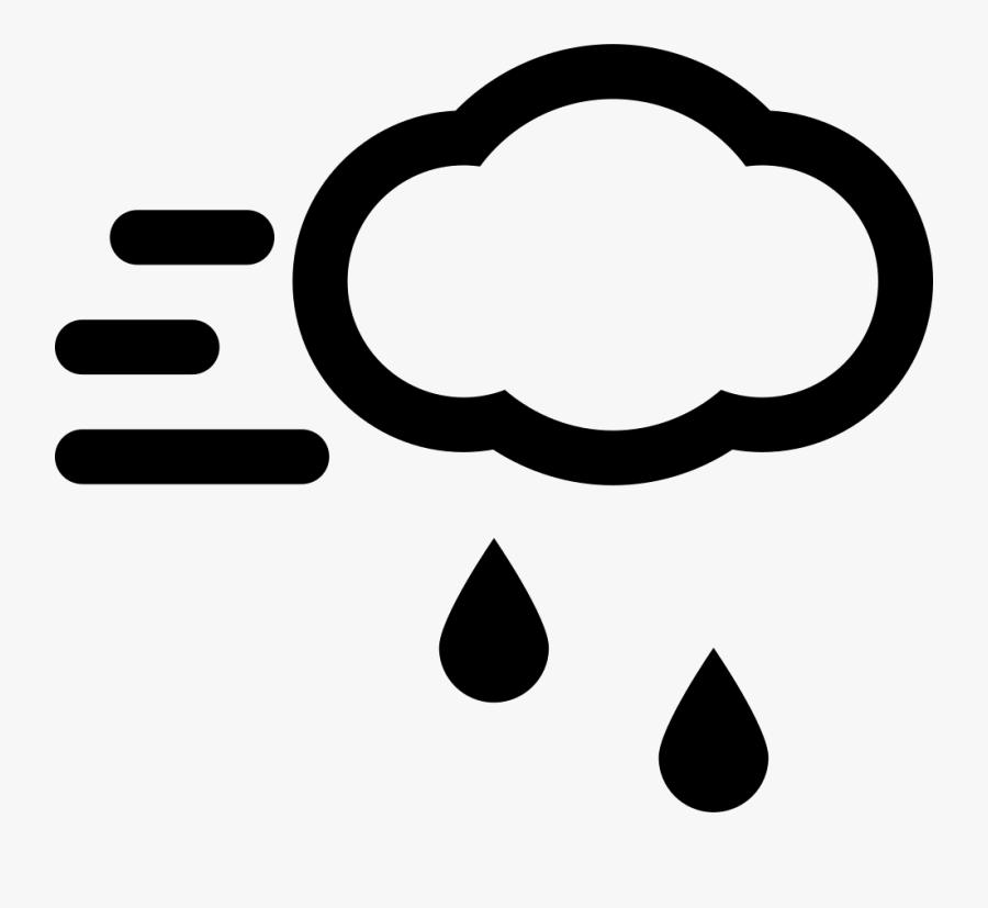 Clipart Clouds Windy - Portable Network Graphics, Transparent Clipart