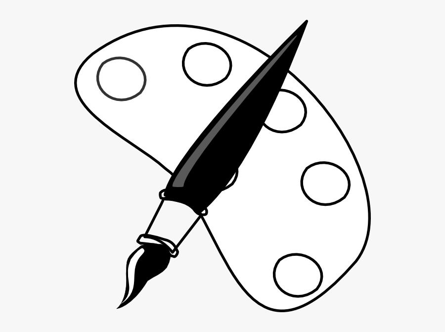 Paint Palette Clip Art At Clker, Transparent Clipart