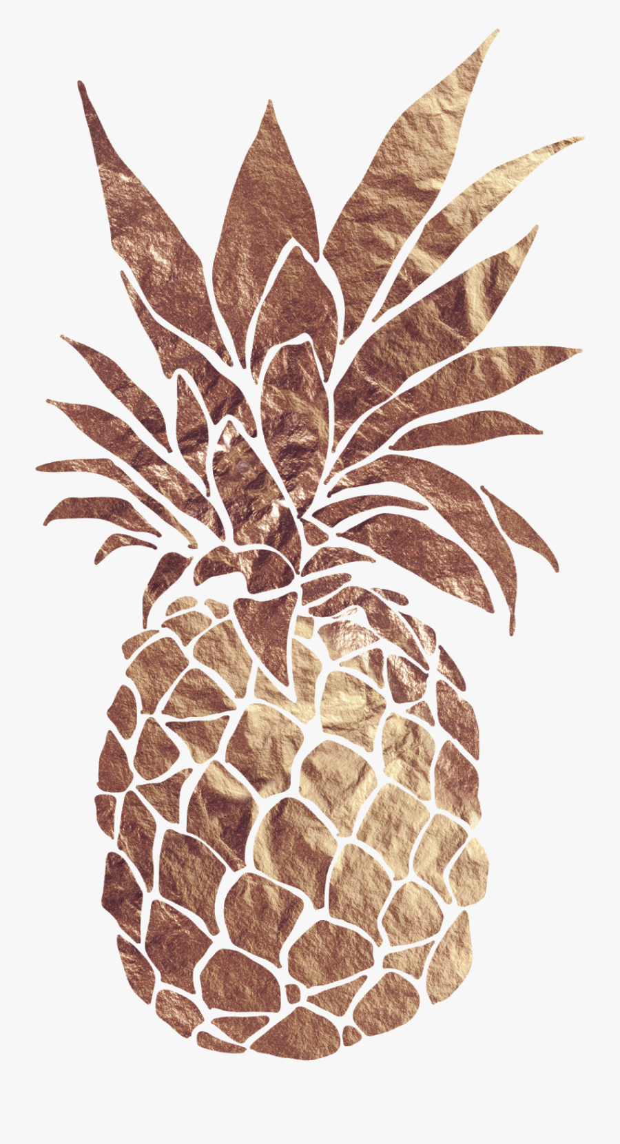 Pineapple Png Vector Clipart Image - Transparent Background Gold Pineapple Png, Transparent Clipart