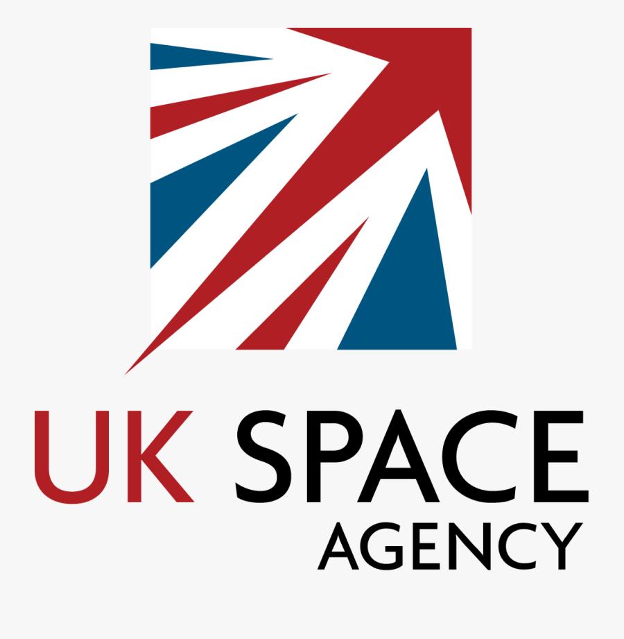Uk Flag Logo - Uk Space Agency, Transparent Clipart