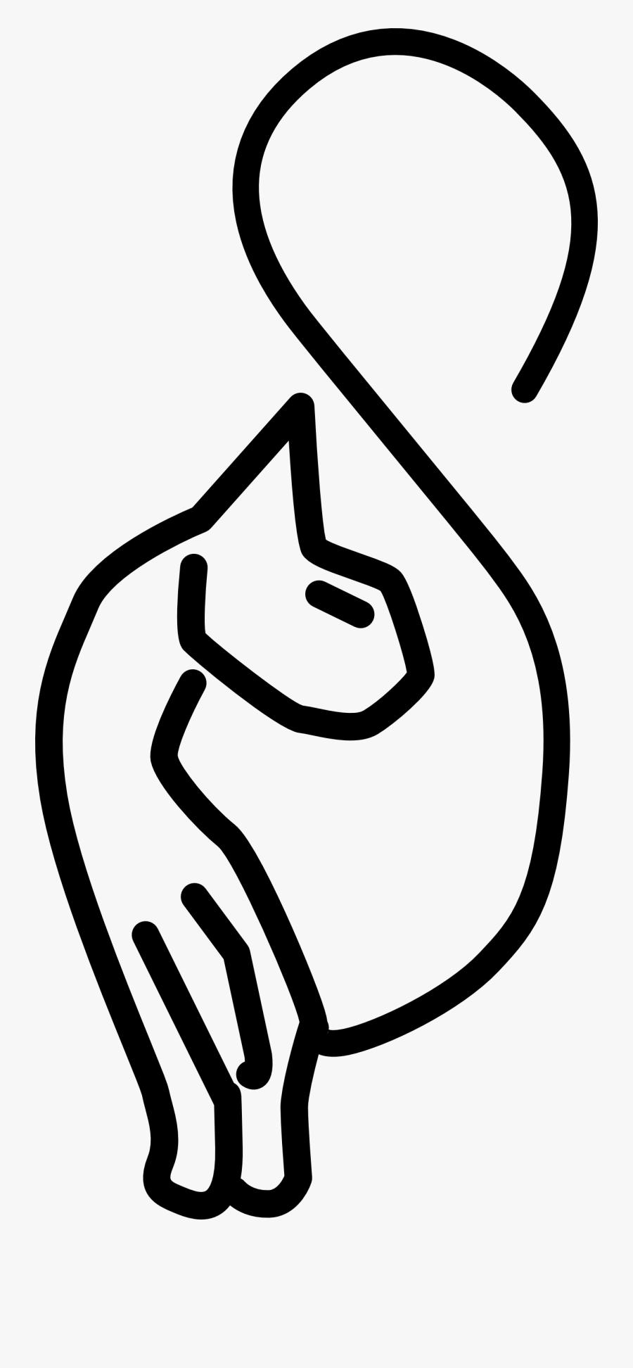 Kitty Cat Symbol, Transparent Clipart