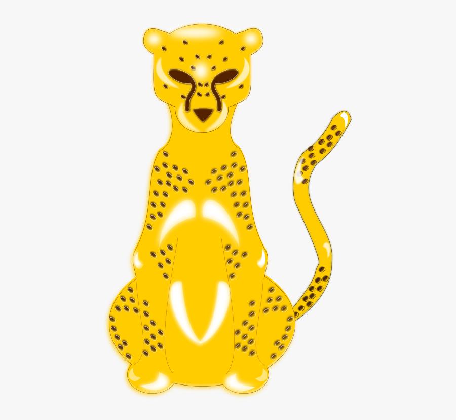 Gepardo Svg Clip Arts - Masculine And Feminine Of Leopard, Transparent Clipart