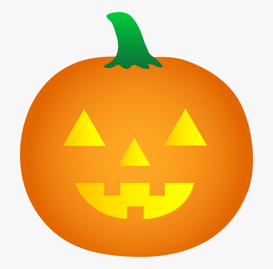 Clipart Halloween Transparent Background Pumpkin, Transparent Clipart