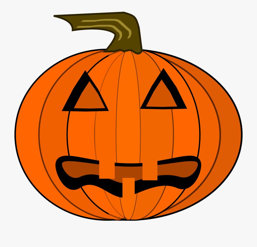 Jack O Lantern Big - Halloween Vintage Pumpkin Png, Transparent Clipart
