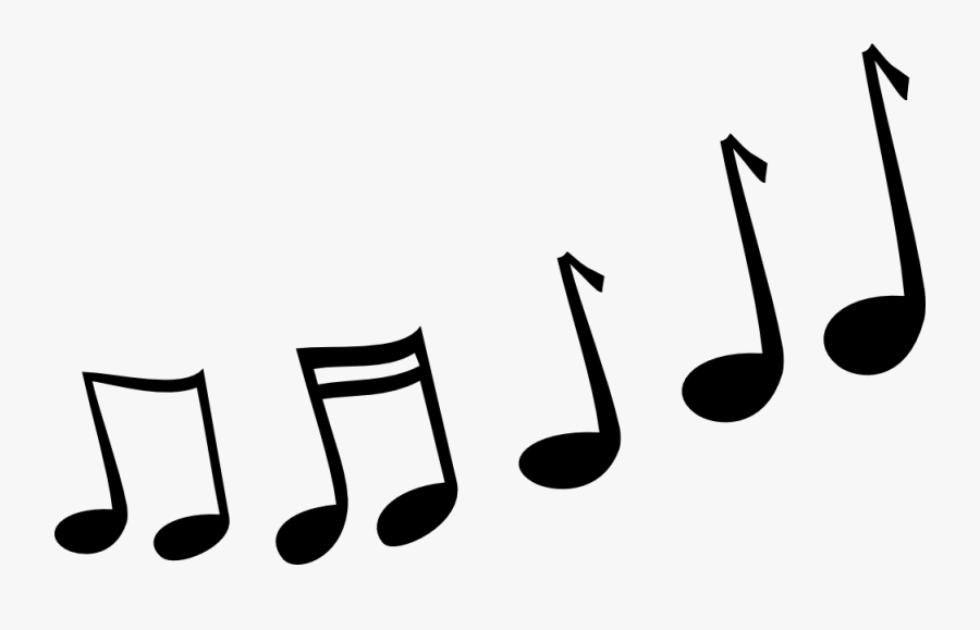 Melody Music Clipart - Transparent Background Cartoon Music Notes, Transparent Clipart
