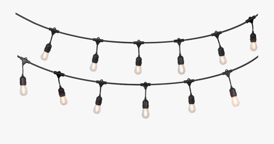String Light Png Free Download - String Of Lights, Transparent Clipart